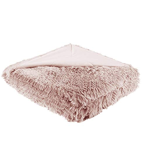 Shaggy Throw Blanket Reversable Magnificent