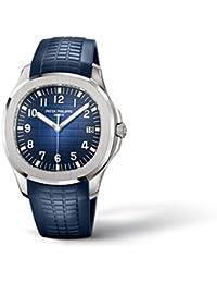20th Anniversary 42mm White Gold Watch Blue Strap 5168G-001