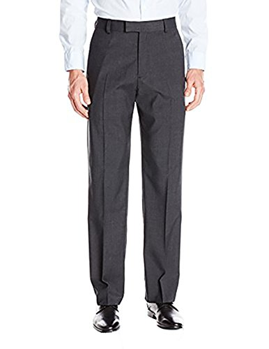 IZOD New Performance Stretch Dress Pants Straight, Charcoal, Size: 34x30, NWT