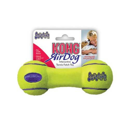 Air Squeaker Dumbbell Dog Toy Size: Small, My Pet Supplies