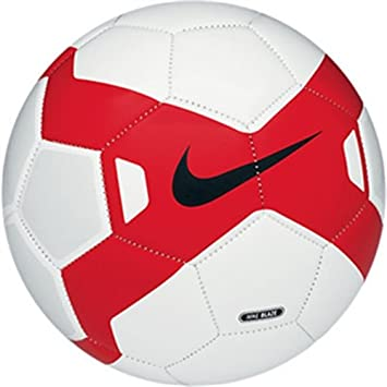 Nike Blaze Balón, Hombre, Blanco/Rojo / Negro, 5: Amazon.es ...