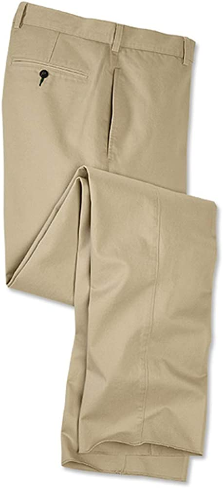 Cuffed Pleated Front Orvis Ultimate Khakis Pleated Front//Ultimate Khakis Khaki