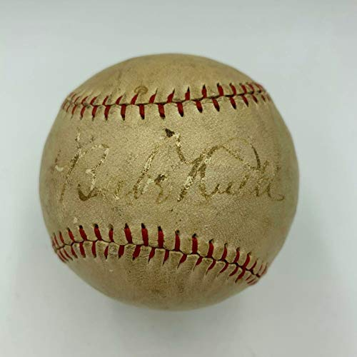 1927 Babe Ruth Single Signed Autographed Baseball With for sale  Delivered anywhere in USA