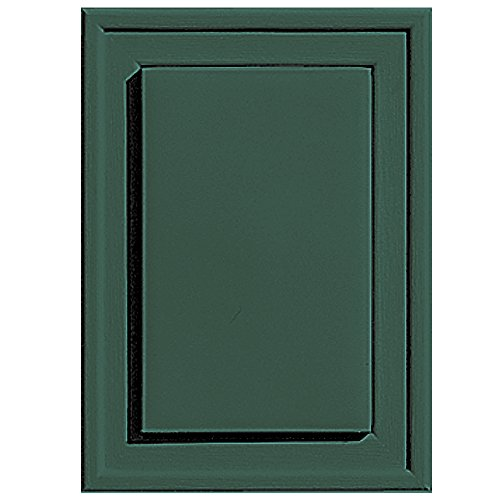 Builders Edge 130130001028 Raised Mini Mounting Block 028  Forest Green