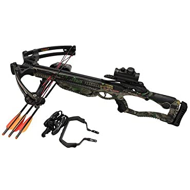 Barnett Raptor FX Crossbow Package with Dot Sight, Large, Camo (78620)