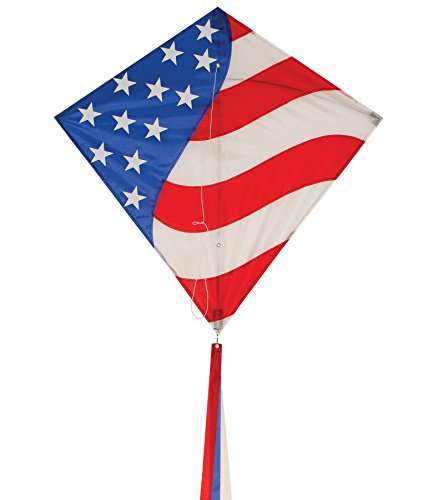 In the Breeze Stars & Stripes Diamond - Star Kite