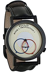 Euclidian Geometry Euclid Unisex Analog Water Resistant Novelty Gift Watch