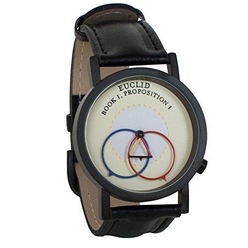 Euclidian Geometry Euclid Unisex Analog Watch