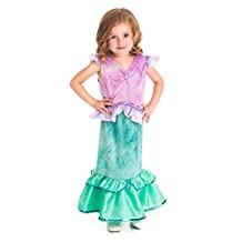 Little Adventures Traditional Mermaid Princess Girls Costume - Large (5-7 Yrs)