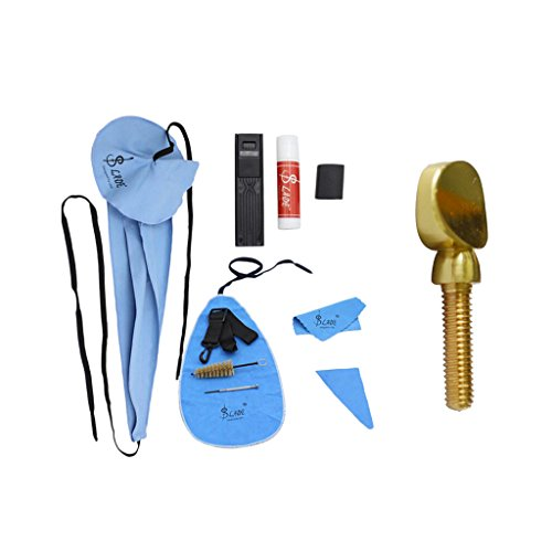 Baosity 10-in-1 Woodwind Care Cleaning Tool Kit Alto Sax Clean Tightening Screw 4.72 x 2.95 x 1.57inch by Baosity