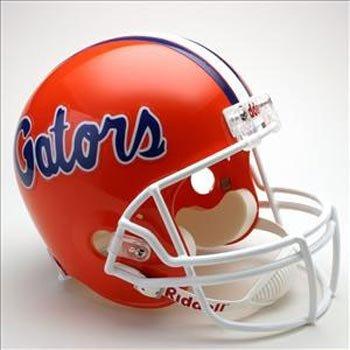 NCAA Florida Gators Deluxe Replica Football Helmet (Football University Florida Of Helmet)