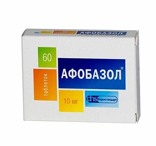 Afobazole 60 comprimés anti-stress Happy Pills, réduire l'anxiété et troubles du sommeil