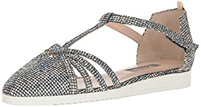 SJP by Sarah Jessica Parker Women's Meteor Closed Toe Ankle Strap Flat, Scintillate, 35 M EU (4.5 US)
