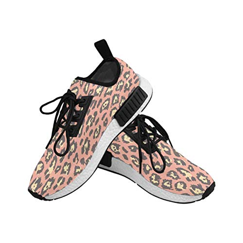 InterestPrint Women's Draco Running Comfort Sports Athletic Shoes Leopard Cheetah Skin 6 B(M) US by InterestPrint