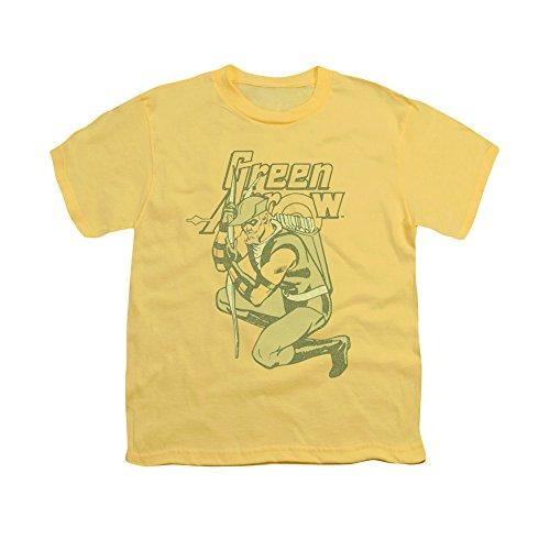 Green Arrow DC Comics Superhero Arrow Crouch Big Boys T-Shirt Tee