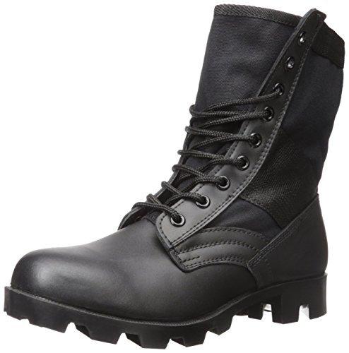 Stansport Jungle Boots, Black, 10R [並行輸入品] B07R3XDY7G