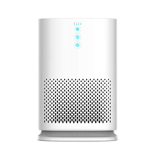 Medify MA-14 Medical Grade True HEPA (H13 99.97%) Air Purifier for 235 Sq. Ft. Allergies, Dust, Pollen.Perfect for Single Office, Bedrooms, Dorms or Baby Nurseries – White