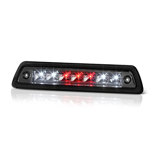VIPMotoZ 2009-2014 Ford F-150 LED Third Brake Light - Metallic Chrome Housing, Smoke Lens, Rear High Mount Stop Lamp