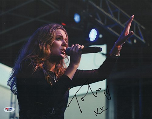 tove-lo-real-hand-signed-11x14-concert-photo-swedish-singer-psa-dna-authentic