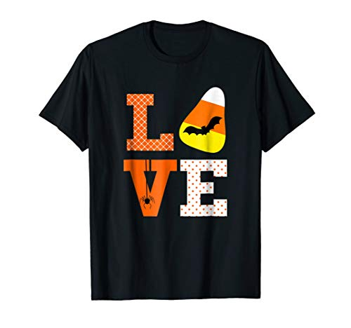 Funny Cute Halloween Shirt saying Love for Girls Women Mom