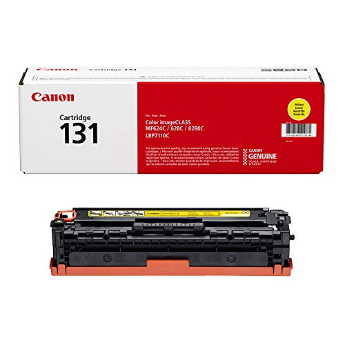 Laser Cartridge Capacity Yellow - Canon Original 131 Toner Cartridge - Yellow