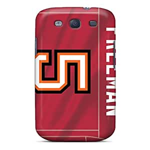 Samsung Galaxy S3 QqY12150XOQM Allow Personal Design High Resolution Tampa Bay Buccaneers Pattern Shock Absorbent Cell-phone Hard Cover -IanJoeyPatricia