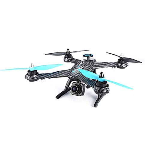 WSAN Drone and Camera, 2.4G Remote Control 5.8G Image Transmission Camera Remote Control brushless Belt FPV map Transmission high-Speed Aerial Photography one-Button Return, Four-axis Aircraft (Map Aerial Photography)