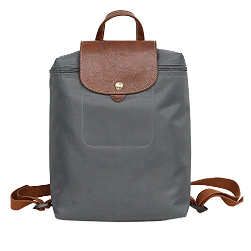 Women Girl School Shoulder Bag,Realdo Zipper Lock Buckle Handbag Converted Backpack Water Resistant Daypacks
