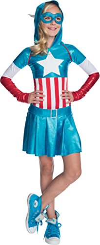 Rubies Marvel Classic Child's American Dream Hoodie Costume Dress
