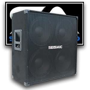Seismic Audio - 412 GUITAR SPEAKER CABINET - 4x12 400 Watts PA/DJ PRO AUDIO