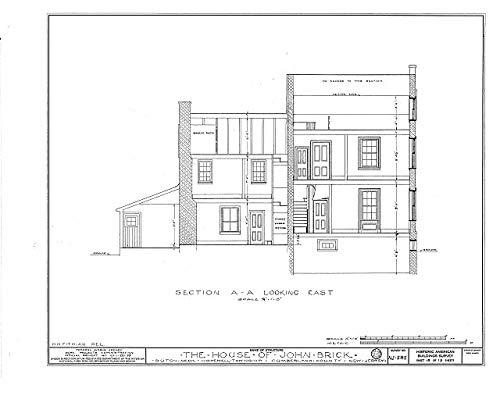 HistoricalFindings Photo: John Brick III House,County Road 50,Dutch Neck,Mercer County,NJ,New Jersey,16 (Nj Furniture Brick)