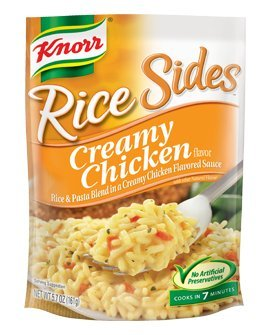 - Knorr, Rice Sides, Creamy Chicken, 5.7oz Bag (Pack of 6)