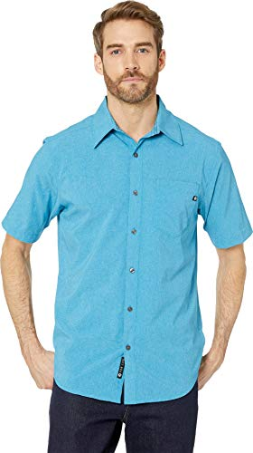 Marmot Men's Aerobora Short Sleeve Shirt Turkish Tile Small