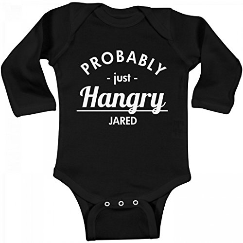 Probably Just Hangry Jared  Infant Long Sleeve Bodysuit