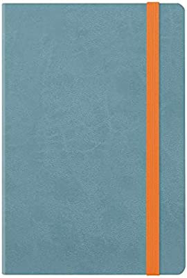 Medium Weekly Diary With Notebook 18 MONTH 2019/2020 - Blue ...