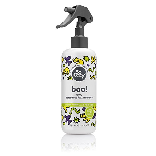SoCozy Boo! Lice Scaring Spray Scares Away Lice… Naturally, 8 Fluid Ounce ()