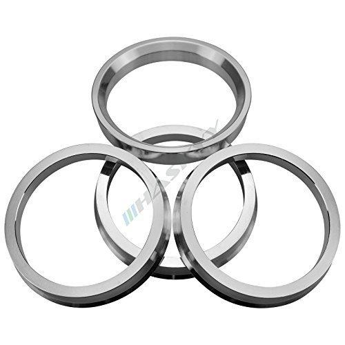 4 Alluminio Anelli di Centraggio Ø 66, 6 - Ø 57, 1 Prolina DBV Rivoluzioni Schmidt Cerchioni 6 - Ø 57 Haskyy