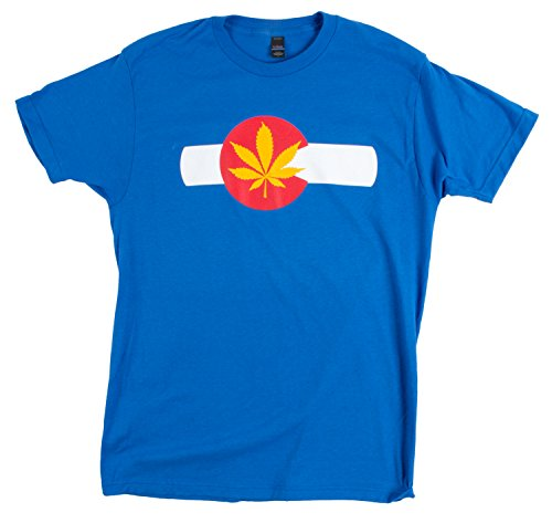 Colorado Pot Leaf | Rocky Mountain Marijuana Weed Flag Pride Unisex T-shirt