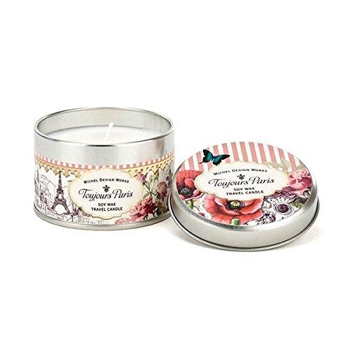 Michel Design Works European Floral Scented Travel Tin So...