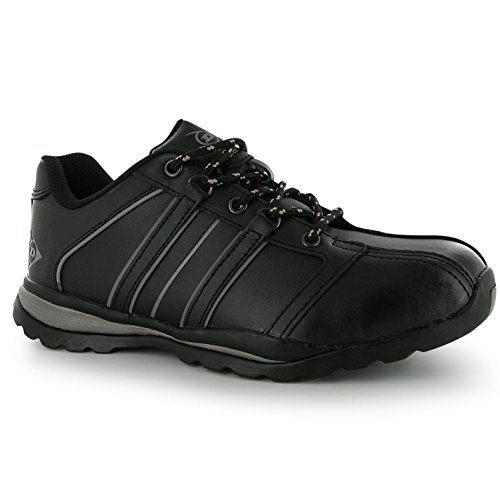 Dunlop Safety Idaho SB40 Sicherheitsschuhe Arbeitsschuhe Leder Schutzschuhe Schwarz 12 (46)