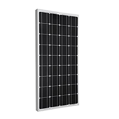 Best Cheap Deal for Giosolar 100W Solar Panel 100Watts 12v Monocrystalline Solar Panel 100W, 90mm of special cable with MC4 connectors attached, Off Grid 12 Volt 12V RV Boat from Giosolar - Free 2 Day Shipping Available