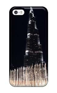 hudson kim's Shop New Style Fashion Protective Burj Khalifa The Dubai Fountain Case Cover For Iphone 5/5s 5008813K72114417