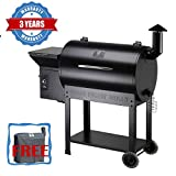 Z Grills Wood Pellet Grill and Smoker 700Sq, 7-in-1 Barbecue Grill