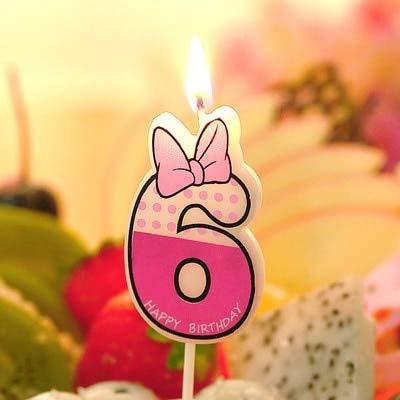 Cupcake Toppers – número de cumpleaños velas dibujos ...