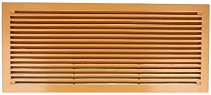 Rejilla de ventilaci/ón para puerta ventilaci/ón de pl/ástico 290/mm x 125/mm Varios Colores by MS herrajes/®