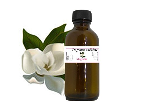 MAGNOLIA FRAGRANCE OIL | For Soap Making| Candle Making| For Use with Diffusers| Add to Bath & Body Products| Home and Office Scents| 2 oz amber glass bottle