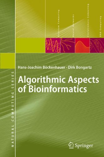 Algorithmic Aspects of Bioinformatics (Natural Computing Series) by Hans Joachim B