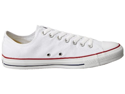 Converse Unisex Kastar Taylor All Star Ox Sneakers .optical Vitt.