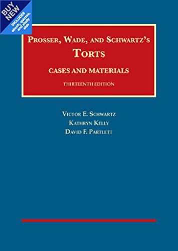 Torts, Cases and Materials  - CasebookPlus