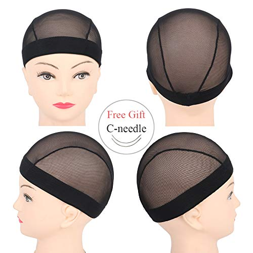 Leeven Dome Ultra Stretch Wig Cap for Women Breathable Wig Caps for Making Wigs